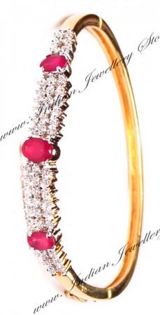 Delicate American Diamond Bracelet WGRA03594