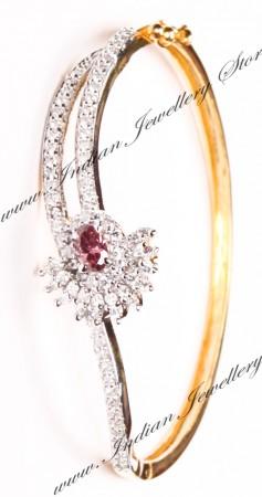 Delicate American Diamond Bracelet WGPA03597