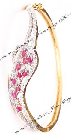 Delicate American Diamond Bracelet WGRA03600