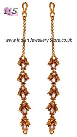 Elegant Clear American Diamond Sahara Chains EEWA11019
