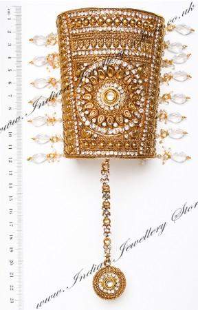 1 x Indian Bangle: Rajasthani Cuff & Hanth Panja, 2.6 WAWC04830