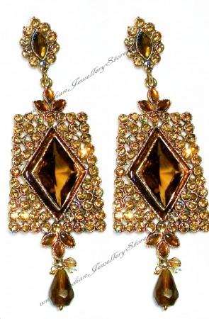 Antique diamante Earrings EANC0804