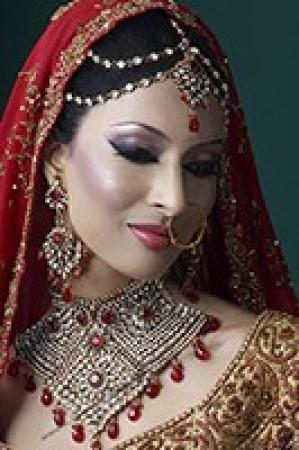 Antique American Dimaond Choker Bridal Set - Aasha BARA0869C