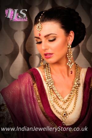 Spectacular Kundan Haar NAWK10651