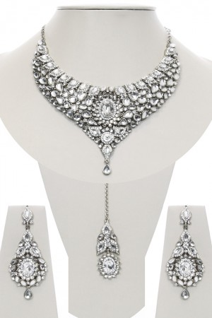 Nisha Indian Bridal Jewellery BSWK03973