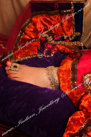Kundan Payal (Indian Anklet) YGWK04480