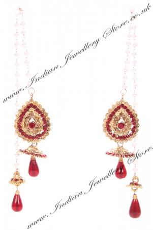 Kashmiri Jhumka Earrings EARC04035
