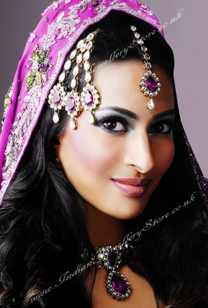 Antique Kundan Choker Necklace - Priya NACC10438C