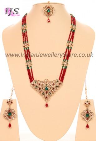 Indian Rani Haar Set - Joshi NGMA10634