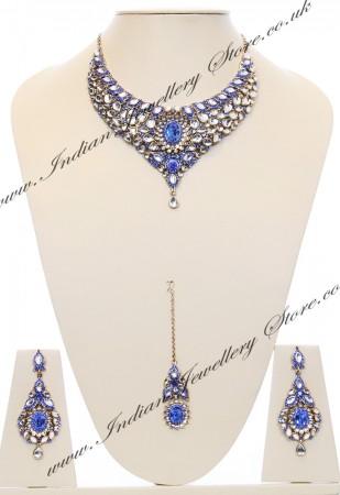 Nisha Indian Bridal Jewellery NALK03976