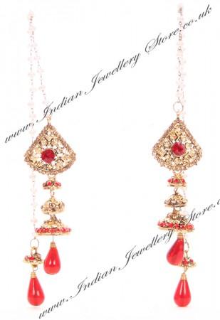 Kashmiri Jhumka Earrings EARC04043