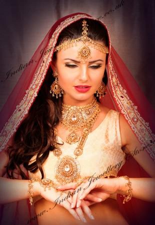 RANITA 22K look Indian Bridal Set BGWA0865