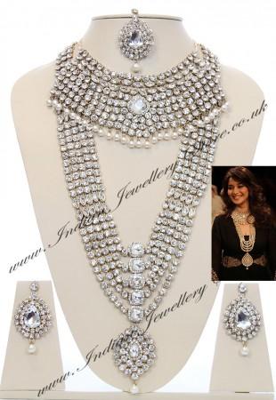 Madhuri Dixit Inspired Jewellery YAWC04030