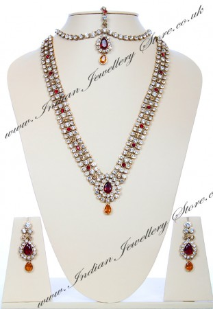 Sonia Indian Necklace Set NARC03945