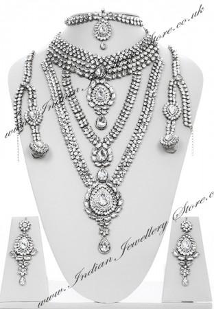 Rhumi Kundan Bridal Set BSWK04746