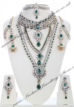 Rhumi Kundan Bridal Set BAGK04749