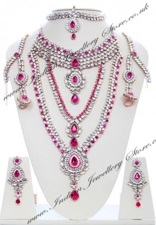 Rhumi Kundan Bridal Set BAPK04750
