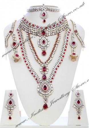 Rhumi Kundan Bridal Set BARK04751