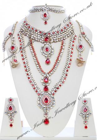 Rhumi Kundan Bridal Set BARK04752