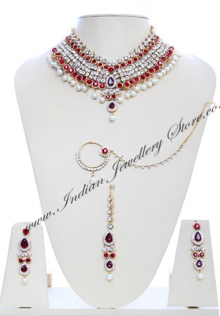 Rajinder Pearl Necklace Set NGRC10064
