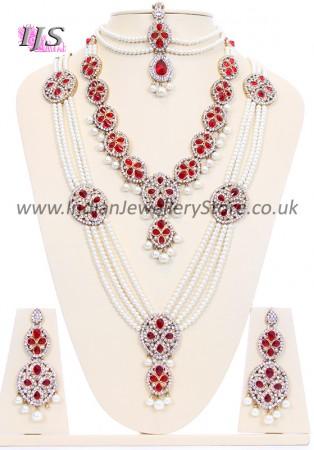 Pearl Mughal Bridal Set BARL10583
