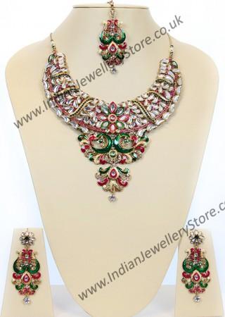 Indian Peacock Jewellery