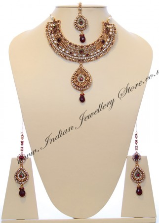 Indian Necklace Set BGRC10038