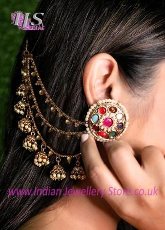 Indian Sahara Jewellery (Earring Chains)