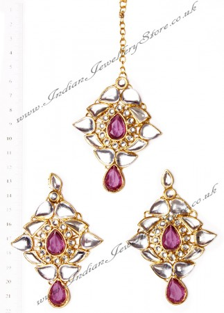 TRISHA Earrings and Tikka IGUK02644