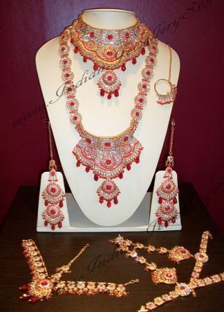 Jodha Akbar 2d. Bright Red JGRC0120