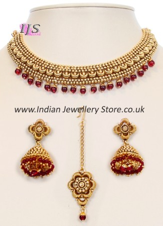 Collar Necklace Set NGRN10048