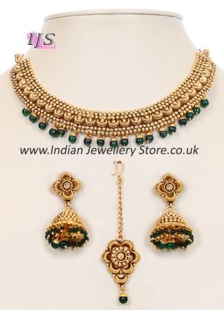 Collar Necklace Set NGGN10049
