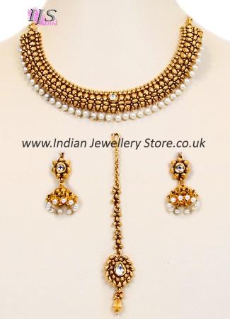 Collar Necklace Set NGWL10051