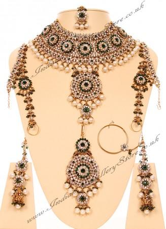Jodha Akbar Bridal Set 3d JAPC03073C