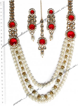 ALPANA Pearl Mala Indian  NAWK10535C