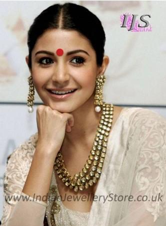 Anushka Sharma Bollywood Necklace Set NANK11144C