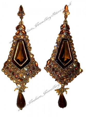 Antique diamante Earrings EANC0814
