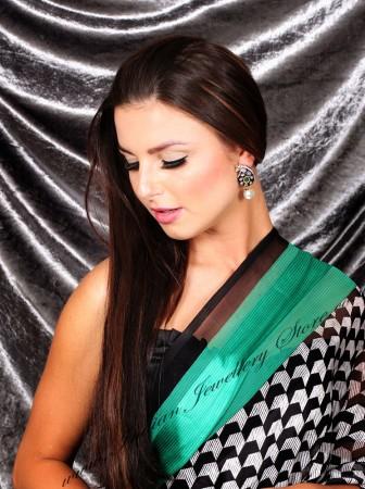 Meena Paisley Studs EGGA03805