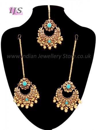 Earrings & Tikka - Indian Jewellery Store