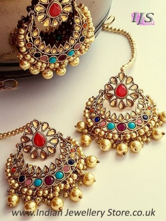 Indian Earrings & Tikka UK