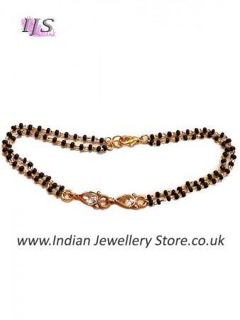 Gold Hand Mangalsutra Bracelet MGWA10889
