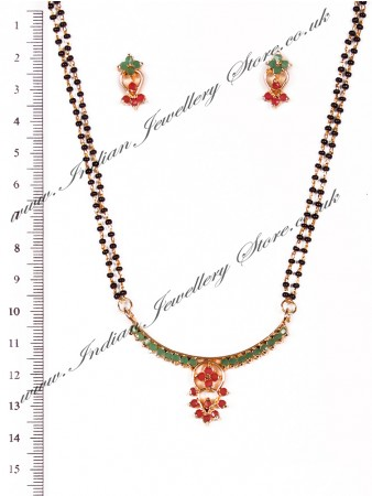 Coloured Mangalsutra Set MGAA03962