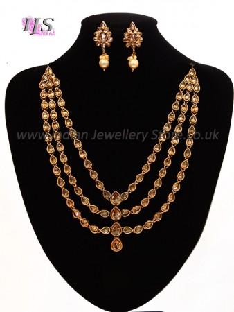 Antique Royal Diamond Haar & Studs NENA10894
