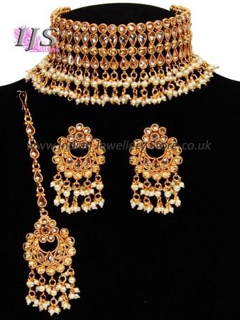 Pakistani Jewellery - Nizam jewellery - Choker