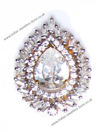 Pear Cut Classic Smaller Ring RGCA10331C