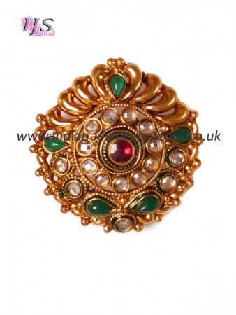 Large Rajhasthani ring AEGP10921