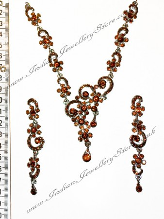 SUSAN crystal necklace set NSNC0826