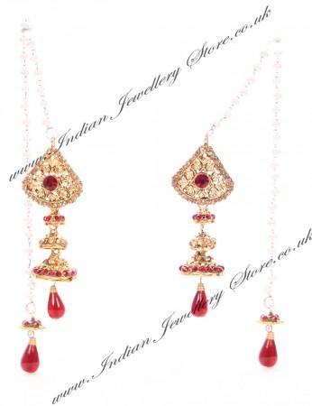 Kashmiri Jhumka Earrings EARC04044