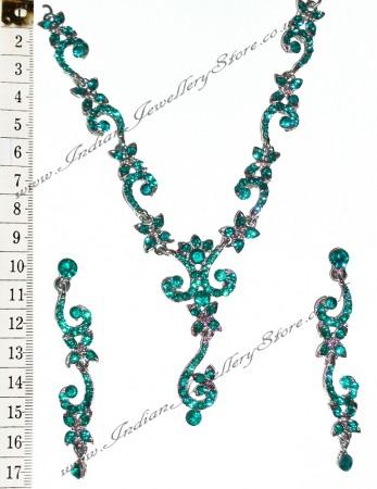 ALICIA crystal necklace set NSLC0838