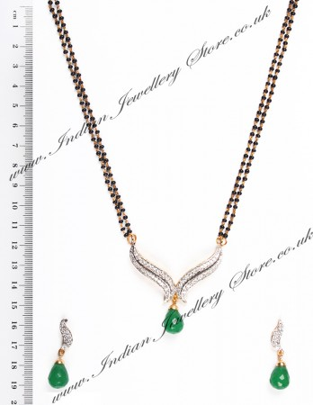 Coloured Mangalsutra Set MGGA04430